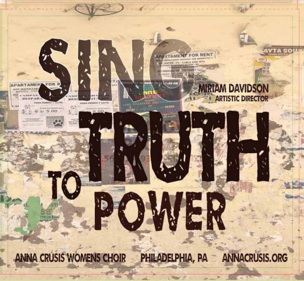 CD Cover for Sing Truth to Power 2018