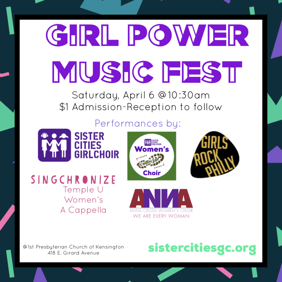 Girl Power Music Fest Poster