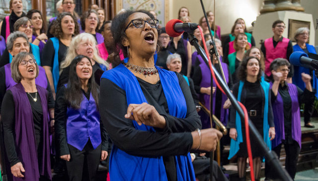 ANNA singers in concert with soloist