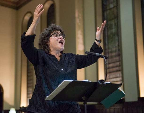 Miriam Davidson conducting ANNA Crusis